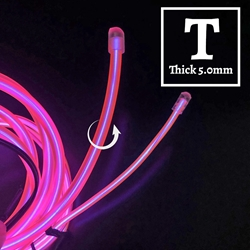 Thick EL Wire 20-foot Kit electroluminescent wire, cool neon, fluorescent wire, el wire, memory wire