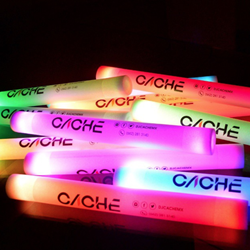 CUSTOMIZED NEW Flashing Foam Stick custom foam, customized foam, foam sticks for wedding, foam stick, LED foam stick, noodle, tubes, baton*, *baton, tube lights, light up tubes, flashing foam stick, lighted foam stick, light-up foam stick, glowing foam stick, glow foam stick, discount foam stick, wholesale foam stick, foam wand, bar, festival, rave, music, edm, edc, cheer, dance, groups, light stick