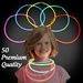 Solid Color Glow Necklaces - Pack of 50 - N6