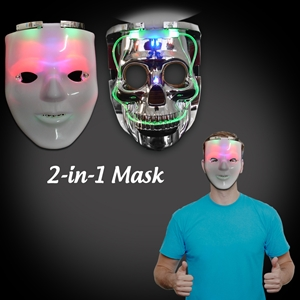 2-in-1 Light Up Mask
