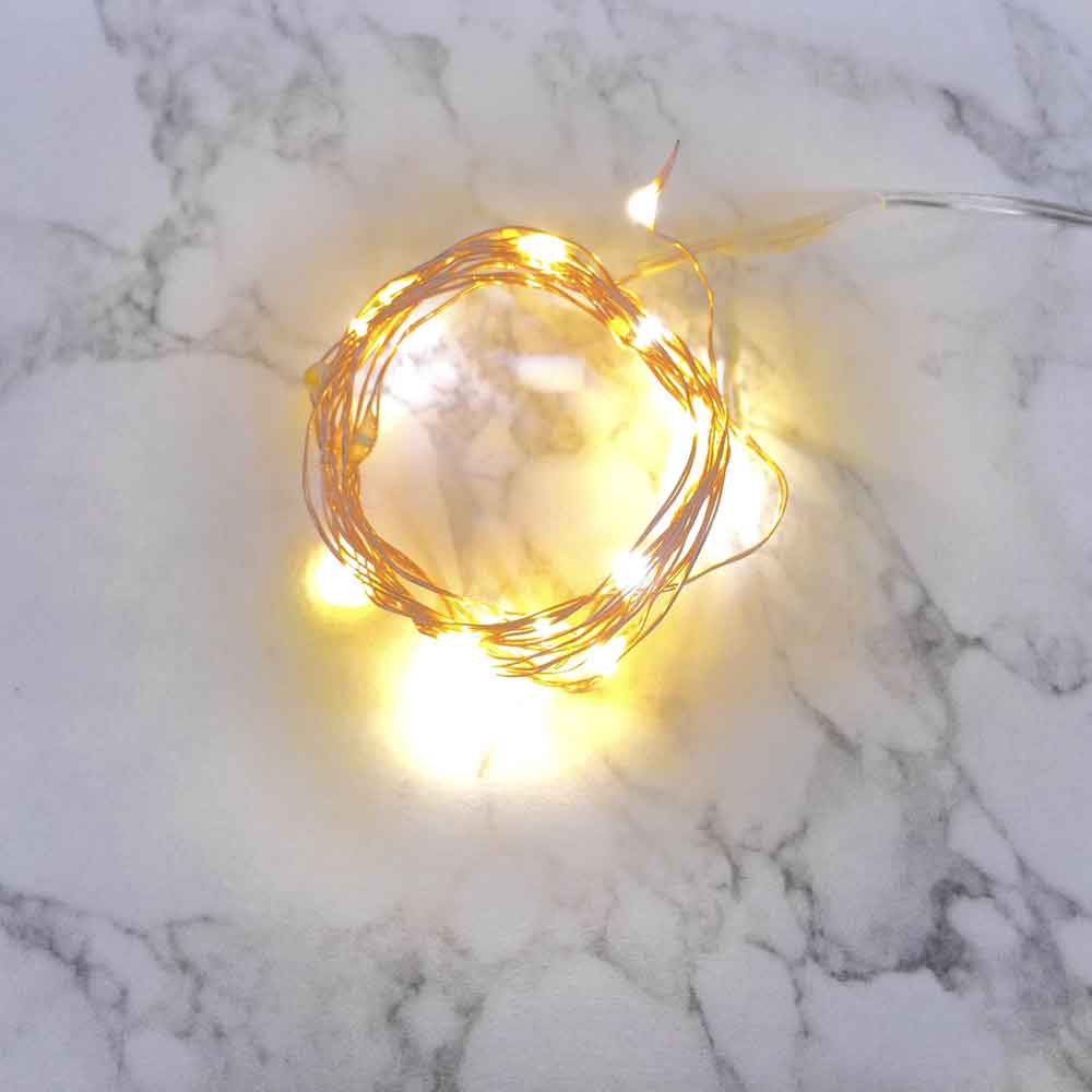 3 Ft Fairy Wire, 18 LEDs, Power Option: AA Battery Pack. Color Options Available String Light with Timer, Copper wire string light, dew drop LEDs, Silver Wire string lights, gold wire string lights, wedding, centerpiece, center piece, decoration, decor, christmas, tree, wreath, flower, costume, Christmas, Halloween