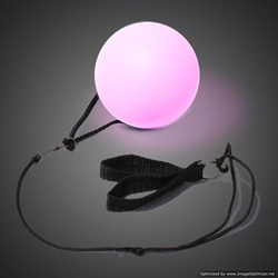 LED Poi Ball with Wrist Strap rave, LED Poi Ball, Lighted Poi Ball, Light Up Poi Ball, Poi Stick, Poi, Light Up Ball, Lighted Ball, LED Ball, dance, edm, edc, festival, burning man