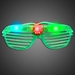 Party Sunglasses - Green - SUNPARTY-G