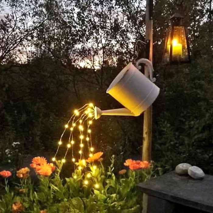 Solar Powered Warm White Fairy Light Leds