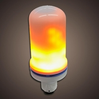Rechargeable Flame Effect Bulb