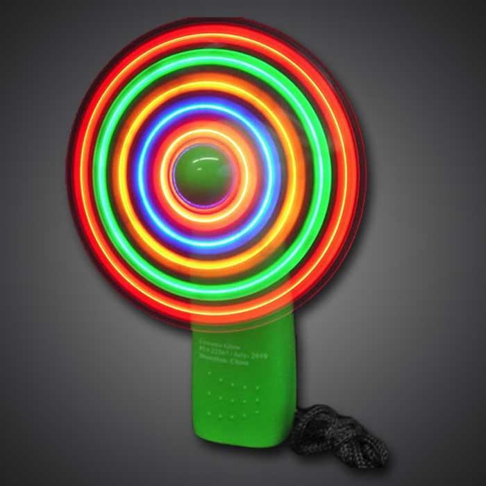 extreme glow led mini fan