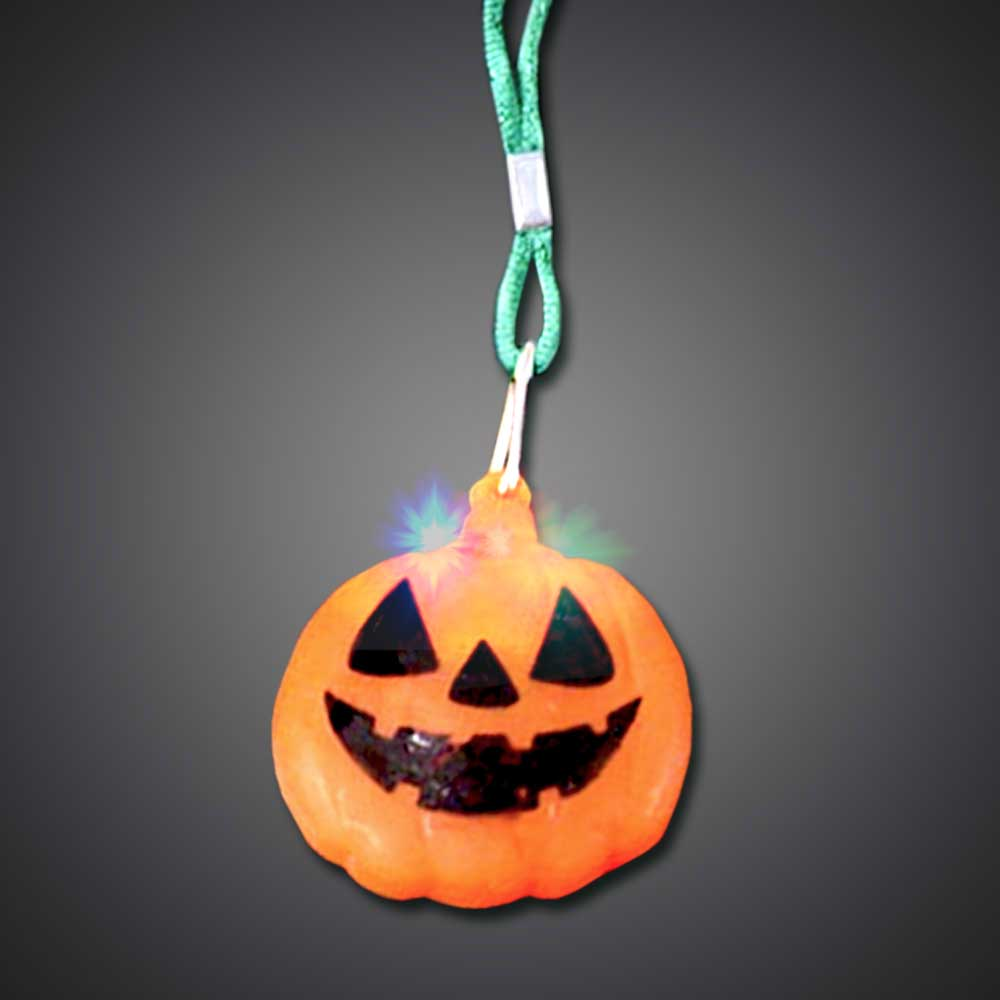 Squishy LED Halloween Necklace - FLASH SALE necklace, glow necklace, halloween, ghost, pumpkin, candy corn, bat, fall festival, boo, lighted necklace, LED necklace, crystal necklace, flashing necklace, flashing pendant necklace, squishy necklace, silicone, give aways, birthday parties, kids, cheap, inexpensive, throws, mardi gras, trick-or-treat