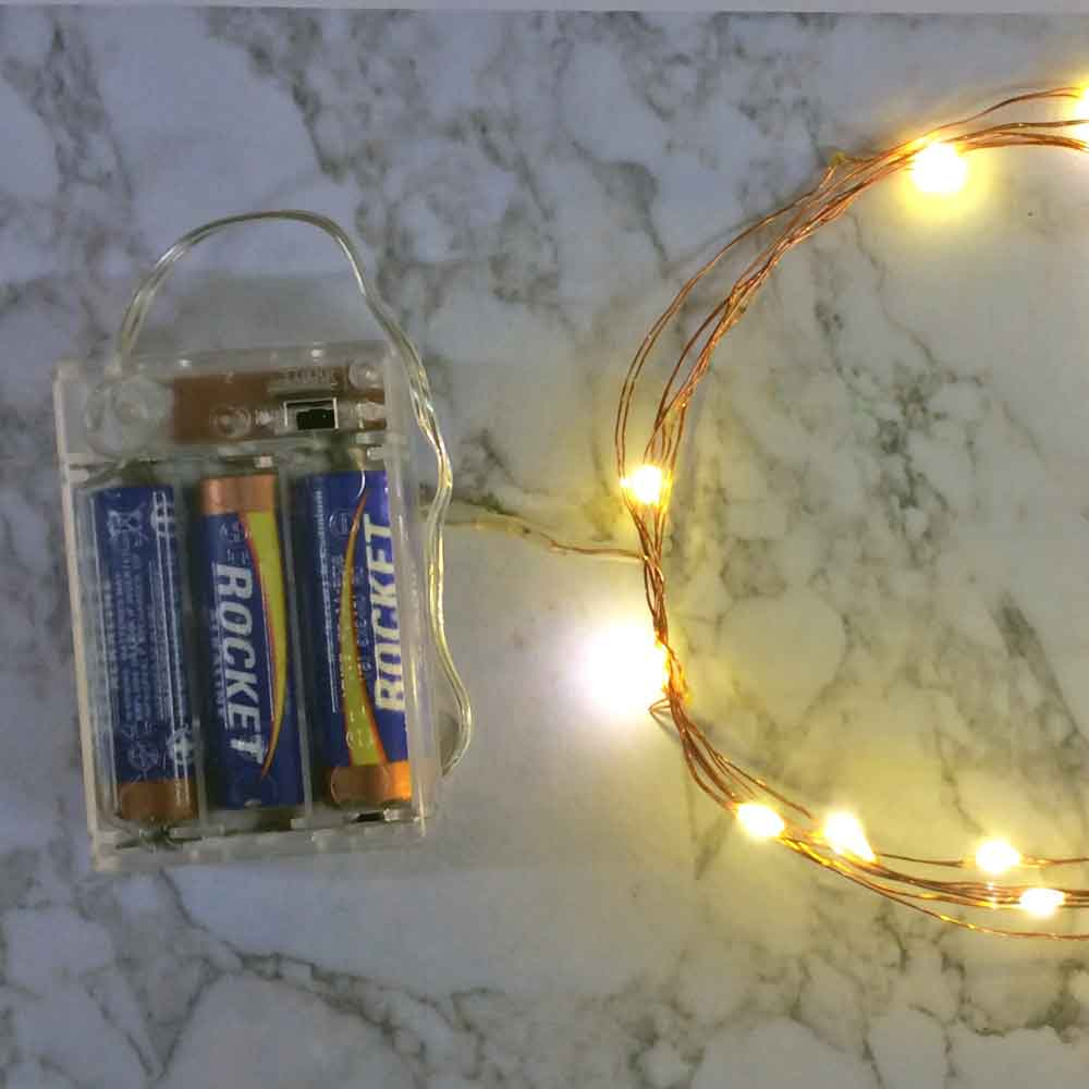 Battery Powered Christmas Lights With Timer